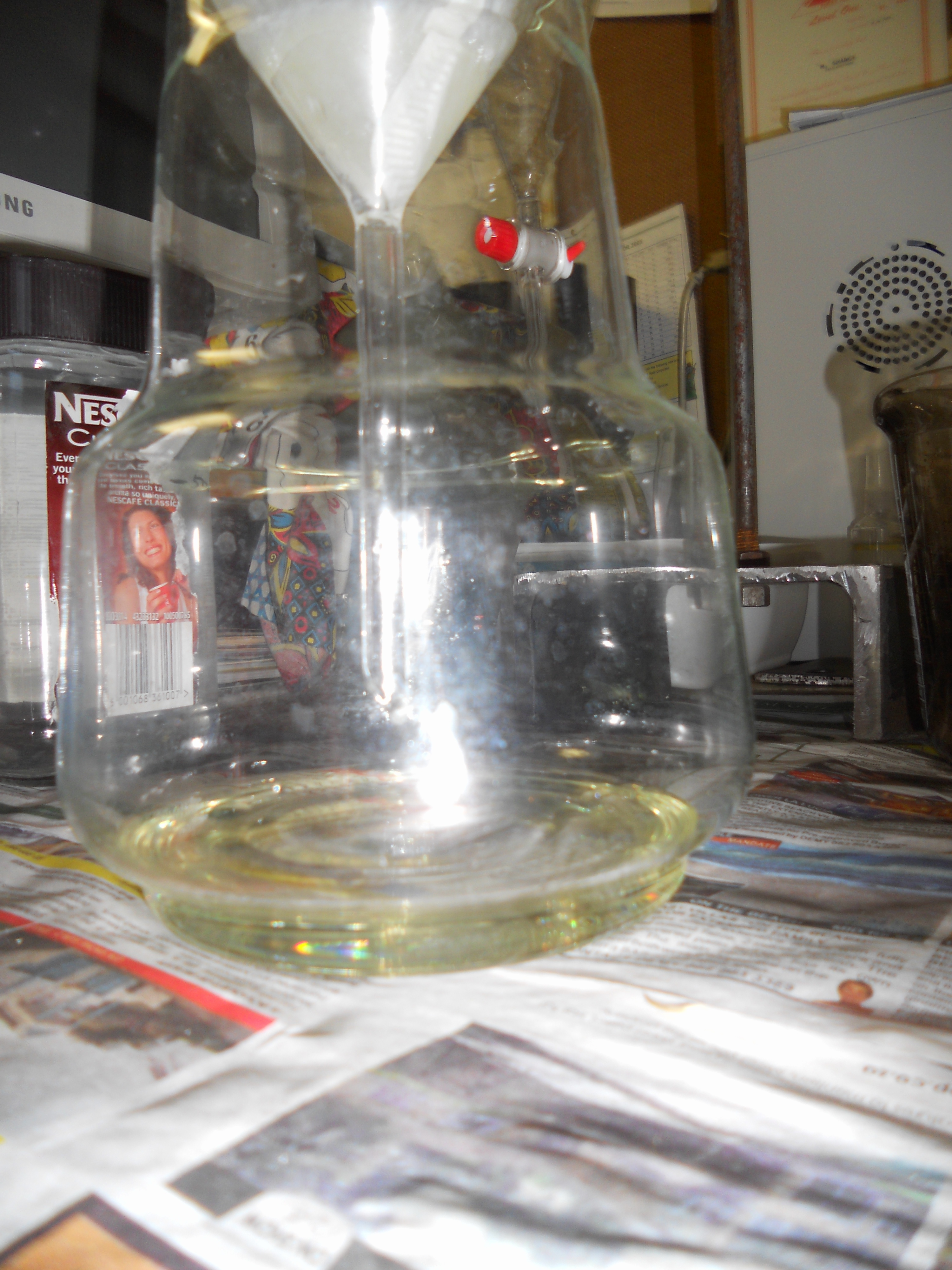 Distilling Essential Oils…Separating the oil from the water Part