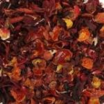 rosehip and hibiscus dried