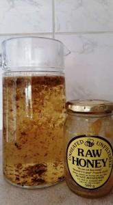 Spiced chamomile iced tea