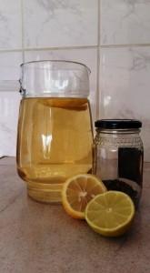 Spicy lemongrass iced tea