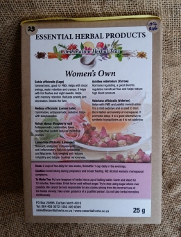 Contains herbs which help balance hormones