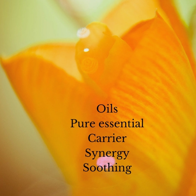 Oils-Website front page