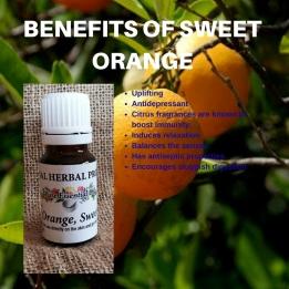 Benefits of Sweet Orange