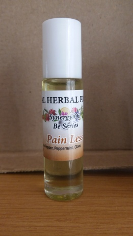 Contains analgesic essential oils such as black pepper and clove